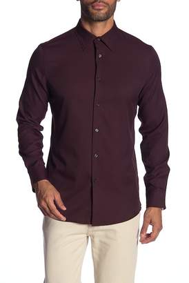 Perry Ellis Solid Slim Fit Shirt