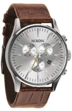 Nixon Sentry Chronograph Watch
