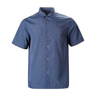 Havana Breeze Men's Relaxed-Fit Printing Hawaiian Shirt XL