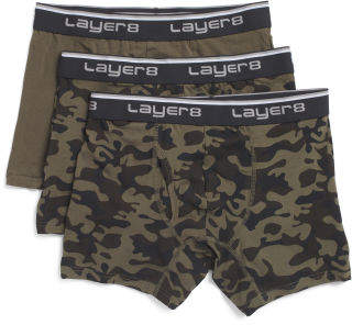 3pk Mens Boxer Briefs