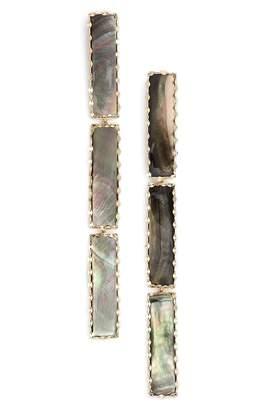 Lana 'Mystiq' Tri Bar Drop Earrings