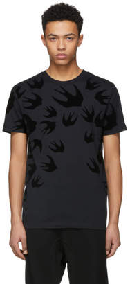 McQ Black Swallow T-Shirt