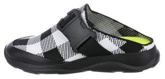 Christopher Kane Woven Mule Sneakers