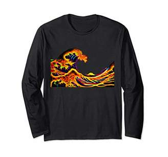 The Great Psychedelic Wave off Kanagawa Long Sleeve Shirt