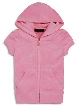 Juicy Couture Black Label Girls' Cherry Grove Terry Hoodie - Little Kid