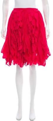 Zucca Knee-Length A-Line Skirt