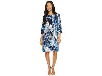 Karen Kane Zip Front Shift Dress Women's Dress
