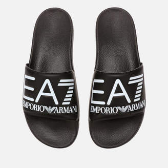 1a5b587e9 Emporio Armani Sea World Slide Sandals