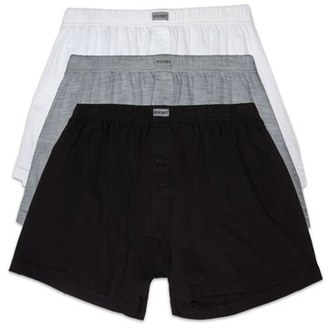Men's 2(X)Ist 3-Pack Cotton Boxers $38 thestylecure.com