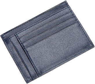 Royce Leather RFID Blocking Slim Card Case Wallet