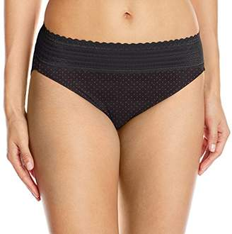 Warner's Women's No Pinching. No Problems. Hi-Cut Brief with Lace Panty $11.50 thestylecure.com