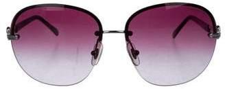 Tiffany & Co. Rimless Gradient Sunglasses