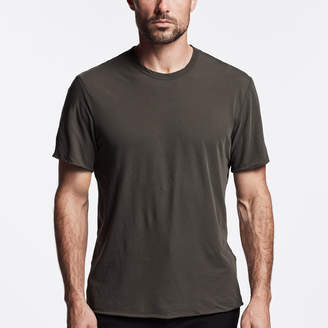 James Perse HIGH GAUGE DOUBLE LAYER TEE