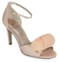 Adrianna Papell Gracie Satin Ankle-Strap Sandals