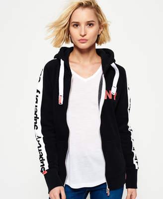 Superdry Sport Code Raglan Zip hoodie