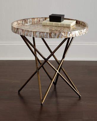 Palecek Marina Shell Side Table