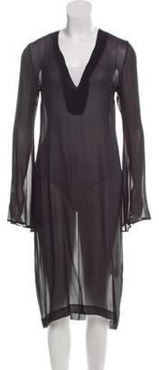 Ellery Silk Midi Dress
