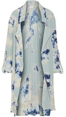 Kain Label Ludlow Tie-Dyed Crepe Jacket