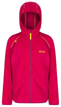 Regatta Girls' Pink Chromium Fleece Jacket