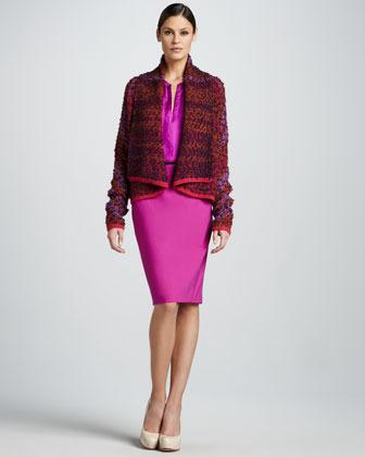 Rachel Roy Pencil Skirt, Begonia