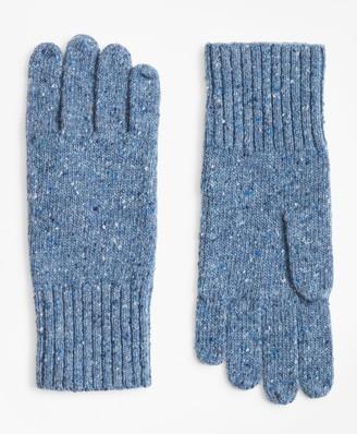 879f722008b Brooks Brothers Merino Wool Donegal Knit Gloves