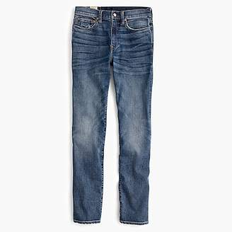 J.Crew 770 Straight-fit stretch jean in light worn wash