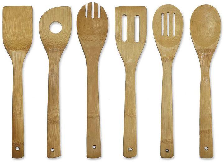 Oceanstar 6-pc. Bamboo Cooking Utensil Set