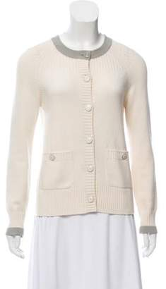 Chanel Cashmere Button-Up Cardigan Cashmere Button-Up Cardigan