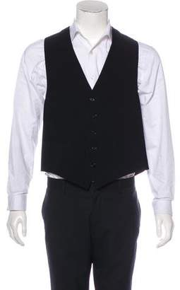 Giorgio Armani Wool V-Neck Vest w/ Tags