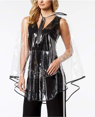 totes Women's Ultra-Clear Zip-Up Rain Poncho