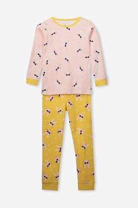 Cotton On Alicia Long Sleeve Girls PJ Set