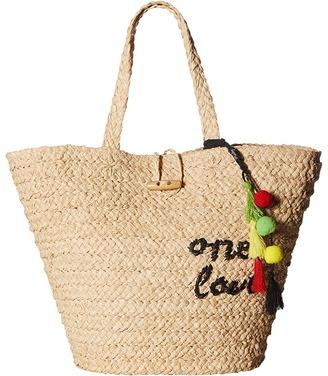 Hat Attack - Bob Marley One Love Tote Tote Handbags $115 thestylecure.com