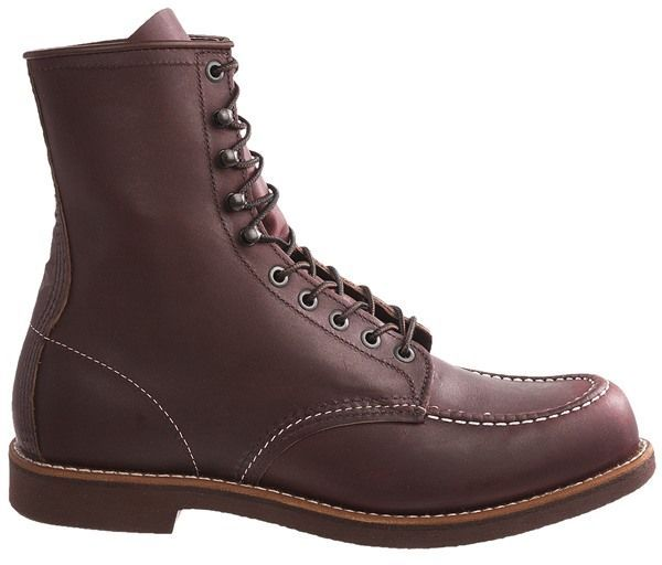 "Red Wing Shoes 214 Moc Toe Boots - Factory 2nds, Leather, 8"" (For Men)"