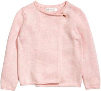 H&M Wrapover Cardigan - Pink