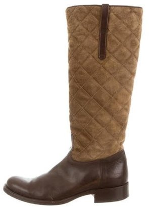 Ralph Lauren Collection Quilted Riding Boots $225 thestylecure.com