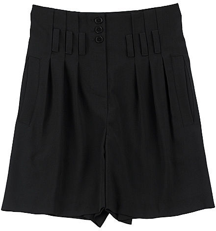 Alexander Wang High-Waisted Buttoned Shorts