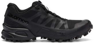 Boris Bidjan Saberi Black Salomon Edition Speedcross 3 Clear Sneakers