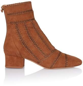 Alexandre Birman Beatrice Stitched Ankle Boot