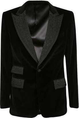 Dolce & Gabbana Formal Embroidered Blazer