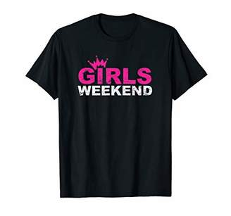 Girls Weekend TShirt Funny Trip Vacation Getaway Women Girl T-Shirt