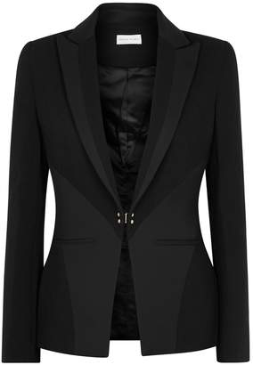 Rebecca Vallance Anise Black Textured Blazer