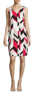 HUGO BOSS Dephani Herringbone Sheath Dress