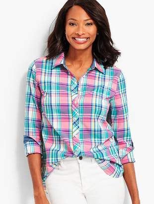Talbots The Classic Casual Shirt - Plaid