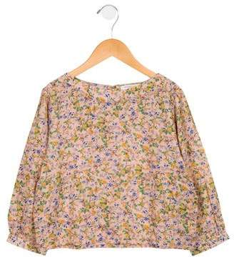 Caramel Baby & Child Girls' Floral Woven Top