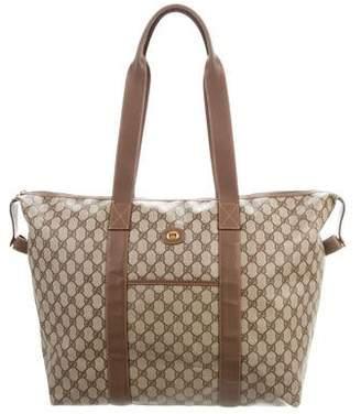 Gucci Vintage GG Plus Weekender Bag