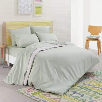 Nessa Solid Reversible Duvet Cover Set, King - 100% Exclusive