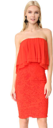 Fuzzi Strapless Dress $395 thestylecure.com