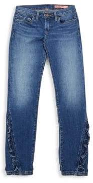Blank NYC Girl's Rapunzel Ruffle Jeans