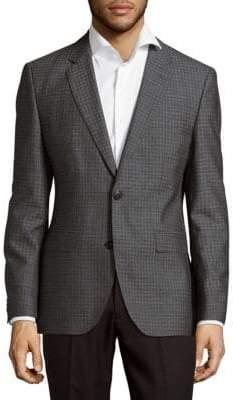 HUGO BOSS Wool Check Sportcoat