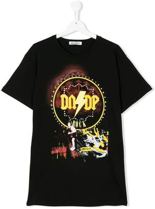 Dondup Kids graphic print T-shirt